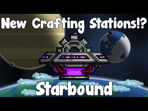 New Crafting Stations!? - Starbound Guide , Nightly Build