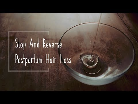 Stop Postpartum Hair Loss & Grow MORE Hair With This Simple Practice