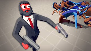 John Wick Can't Be Stopped - Totally Accurate Battle Simulator (TABS)