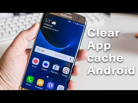 How to clear app cache on android