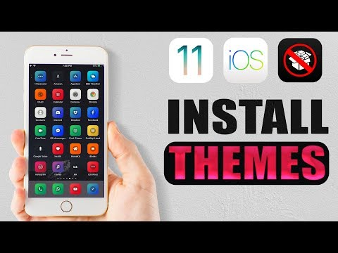 Install Custom iOS Themes Without Jailbreak | iOS 11.3/11/10 iPhone, iPad, iPod