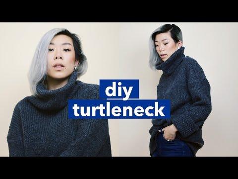 DIY Turtleneck! | WITHWENDY