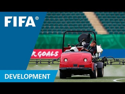 Football turf maintenance pays off