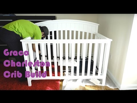 Graco Charleston Crib Full Build and Assembly