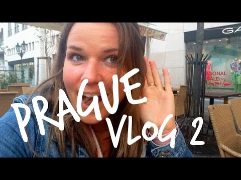 Prague Vlog 2 || city with my sister, concerts, packing