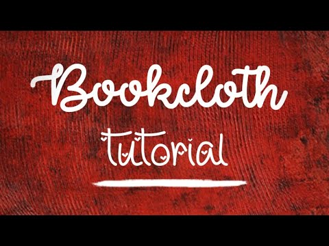 How to Make Bookcloth - Preparing Fabric for Your Book & Junk Journal Covers