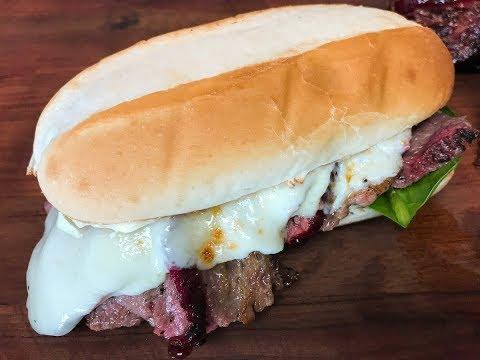 Smoked Tri Tip Sandwich Recipe