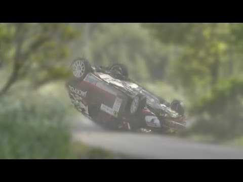 Rally Car Fails and Crashes Compilation