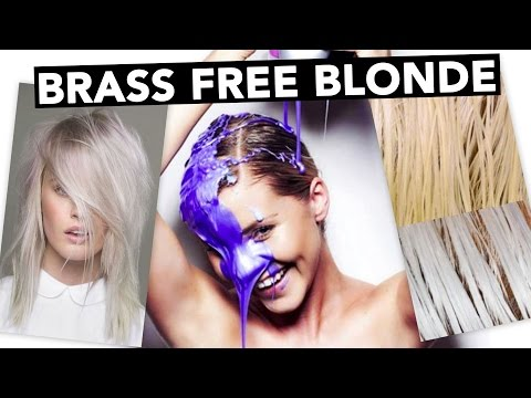 DIY - Brass Free Blonde Hair & How To Tone Extensions