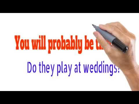 Best Wedding Band in Dublin | Find out  Best Wedding Band Dublin: Call Now- +353 (0)85 743 1898