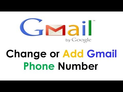 How to change gmail phone number | Google Gmail Service