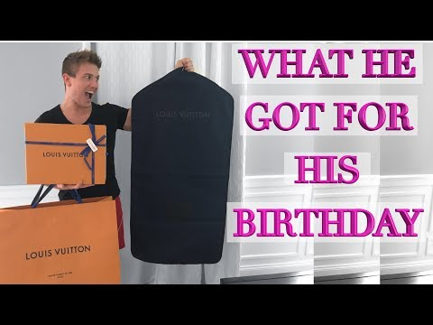 Louis Vuitton Unboxing - What Scott Got For His Birthday!
