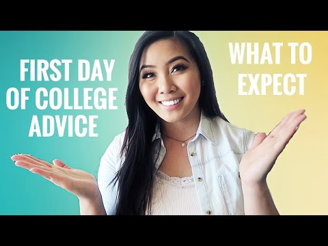 FIRST DAY OF COLLEGE | WHAT TO EXPECT