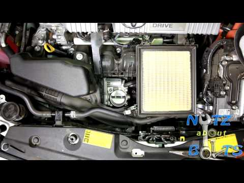 2010-2015 Toyota Prius Throttle body cleaning