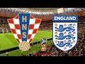World Cup 2018 Semi Final Croatia Vs England 110718 FIFA 18