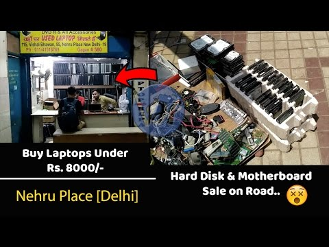 Buy Laptop Under Rs. 8000/- [Nehru Place Market Review]