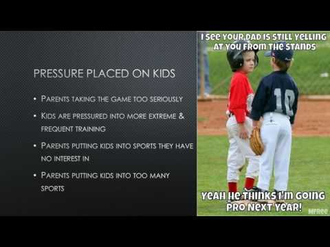 Parents Involvement In Youth Sports