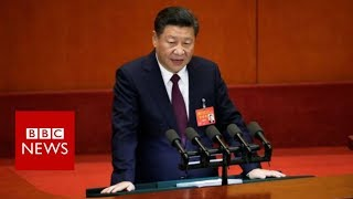 China congress: Xi Jinping declares
