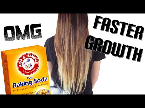 How to Grow Hair FAST with Baking Soda and Apple Cider Vinegar (ACV) | Rapid Hair Growth| Shampoo