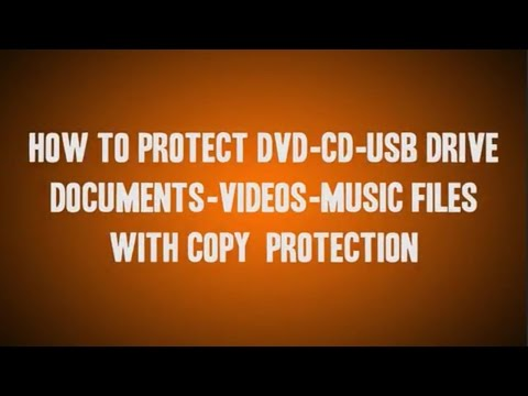 LEARN HOW TO COPY PROTECT YOUR DVD, CD, EXE FILES, VIDEOS, MUSIC FILES IN TELUGU tutorial WITH FUN