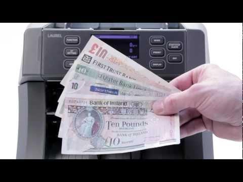 Money Point - X7, Laurel Banknote Sorter