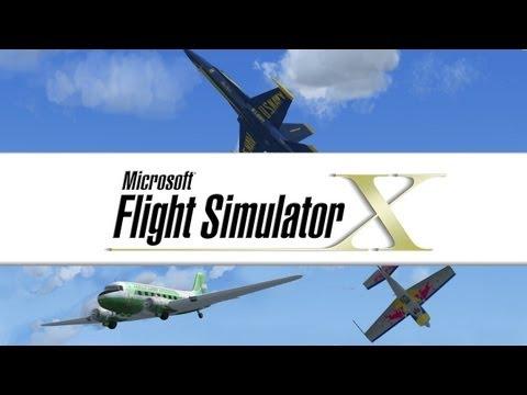 Flight Simulator X - Ep11 - Helicopter Training