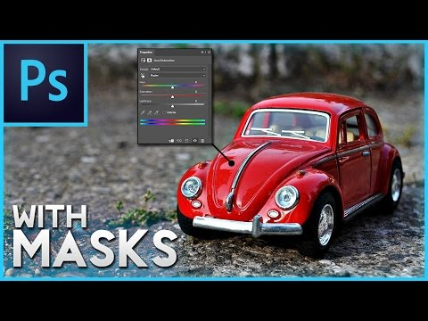 Photoshop How To Change Color of Object - With Masks Part 2 (Adobe Photoshop CS6/CC Tutorial)