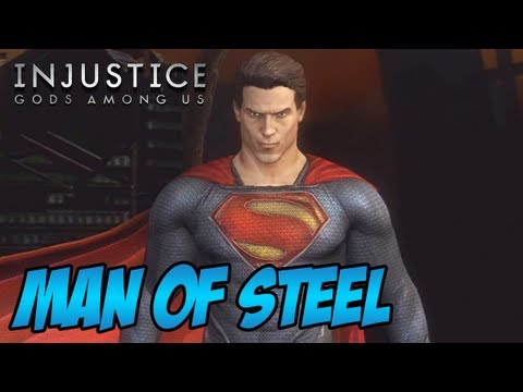 Man of Steel Skin - Superman Injustice Gods Among Us