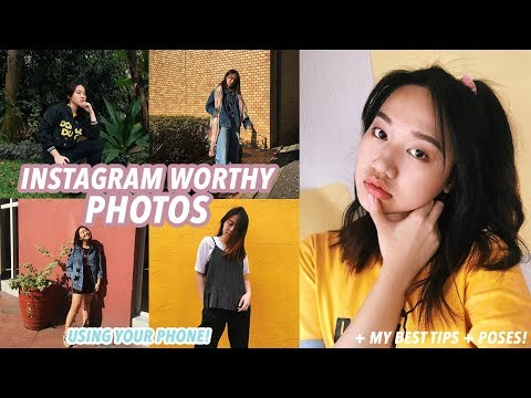 How to Take Good Instagram Pictures (my SECRETS!)