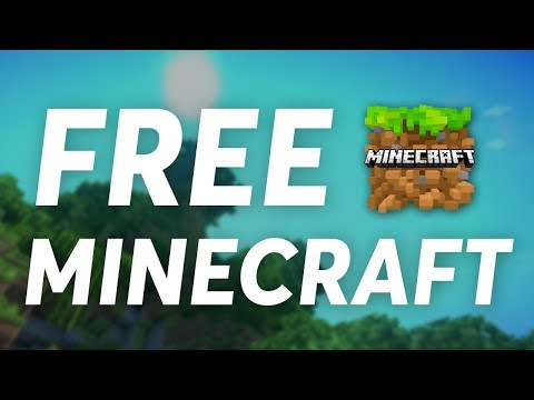 How to Get Minecraft for FREE | Minecraft PC & Pocket Edition FREE | How to get Minecraft Free | PE