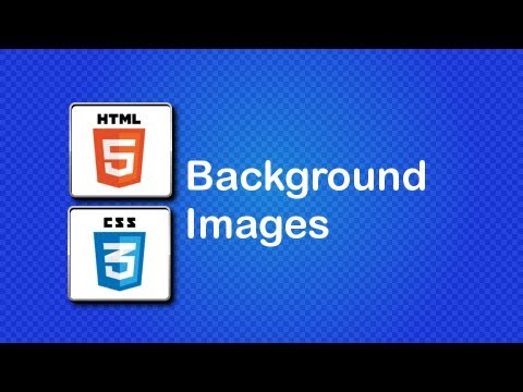 HTML5 and CSS3 Beginner Tutorial 27 - Background Images