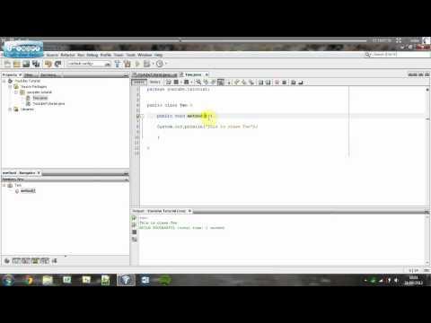 Understanding Java   Creating Multiple Classes (No Parameters)   Tutorial #11