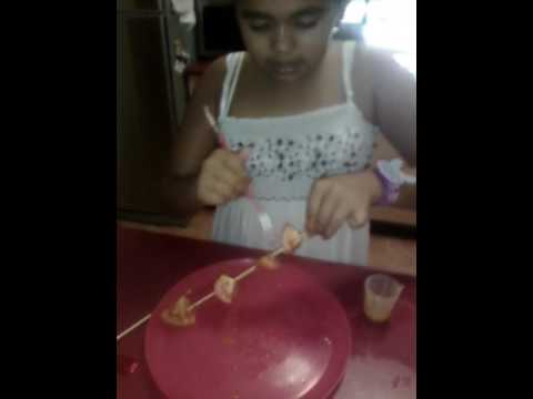Making a ayame tomato glaze by indie