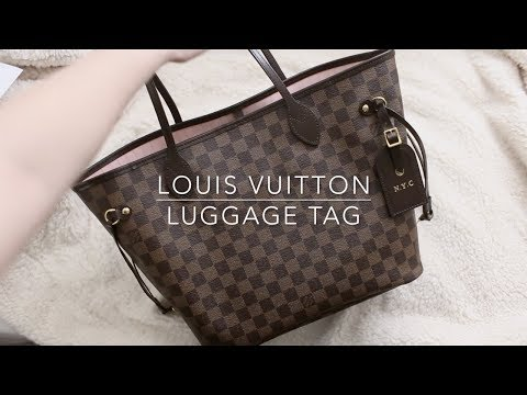 Louis Vuitton Luggage Tag and Zodiac Hot Stamping