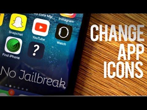 How to Change App Icons - No Jailbreak