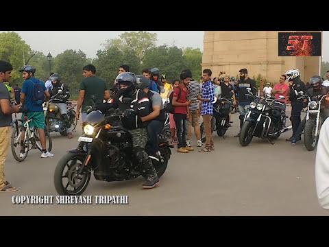 Bullet Ride at India Gate | New Delhi | Road Show