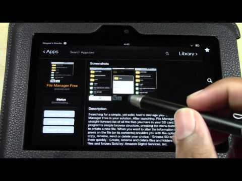 Kindle Fire HD: Best File Manager​​​ | H2TechVideos​​​