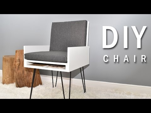 DIY Chair with secret compartment (Plans Available)