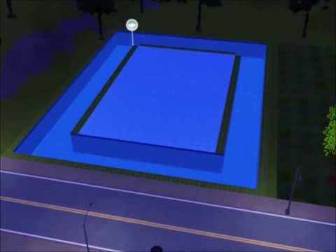How to make a Sims 3 Underwater house