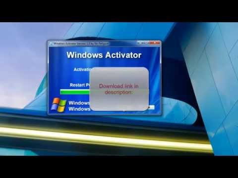 Windows 7 And Vista Activator - 32bit / 64bit - Ultimate, etc...