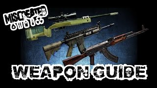 ☢miscreated - Guide - Top 10 Most Unknown Gun Spawns (m249, Kriss V, M55, M40a5, Akm And At-15)