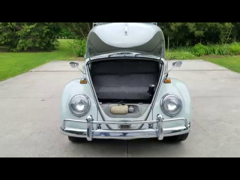 1965 VW Beetle Sunroof Coupe with Very Rare Options For Sale