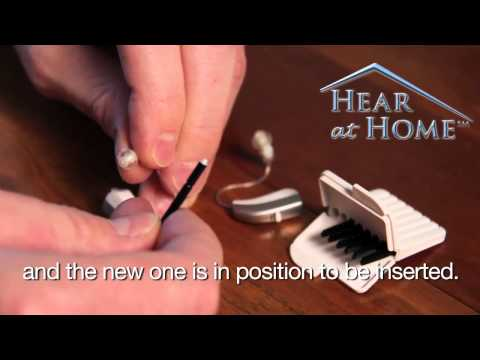 How to Change the Wax Guard in Widex Hearing Aids