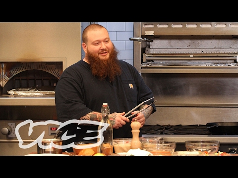 Action Bronson Makes Garlic Parmesan Wings for Sunday's Big Game