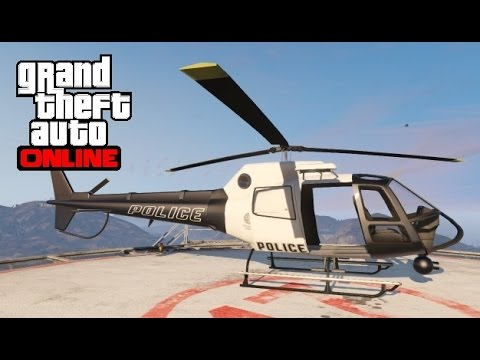 GTA 5 Online - How to Find the Police Helicopter (Maverick)