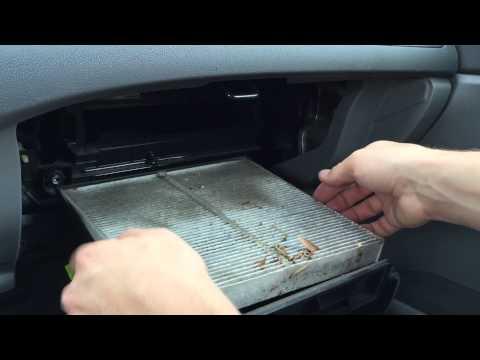2006 - 2011 Honda Civic Cabin Air Filter Change