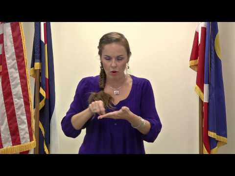 Sign Language - How To Vote