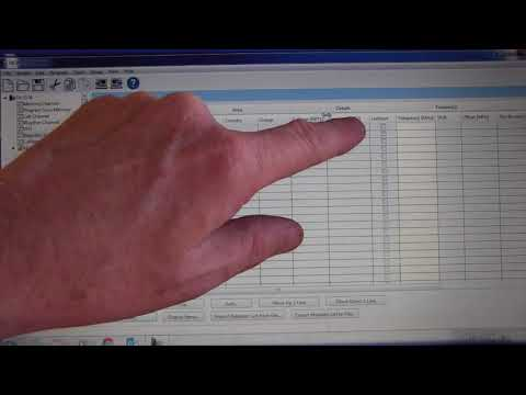 Programming hotspots with Kenwood MCP-D74 Software