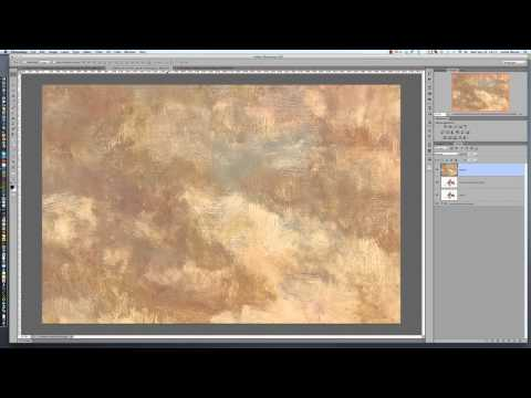 Place and Resize A Texture in Photoshop