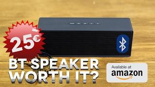 $25 BT Portable Speaker, IS IT WORTH IT??!!  Yokkao